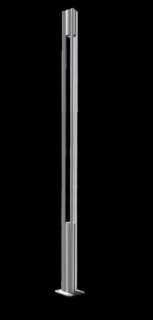 Poteau eclairage exterieur poteaux pour portail trouvez for Poteau led exterieur